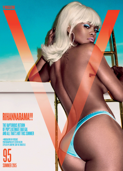Rihanna Looks Hot on The Cover of V Magazine!