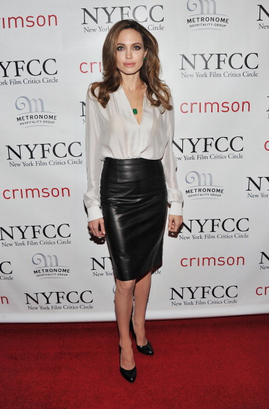 Angelina Jolie - Pencil Skirt Perfection