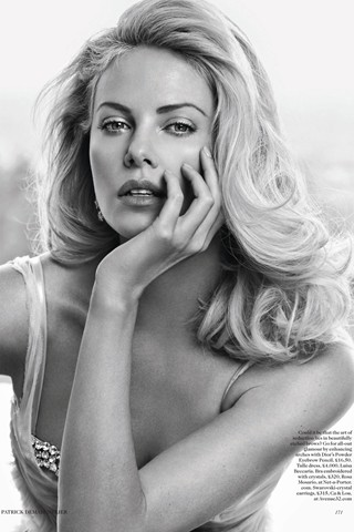 Charlize Theron for British Vogue May 2012