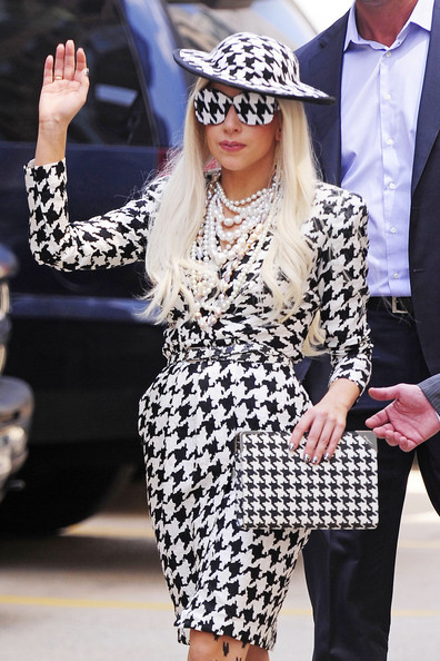 Get the Look: Houndstooth Print
