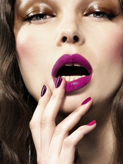 Get the Violet Look with MAC cosmetics