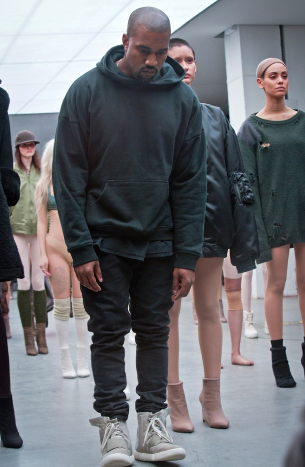 Kanye West Collaborates with Adidas Original for Yeezy Collection
