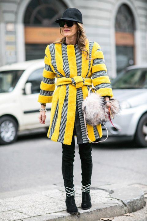Milan Fashion Week Street Style 2014