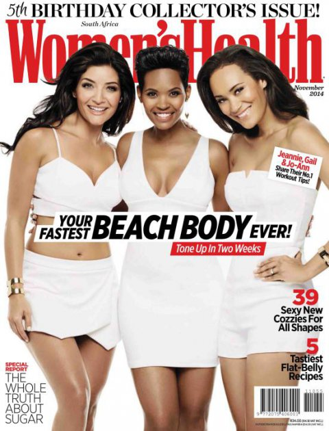 Women'se Halth 5th Birthday issue South Africa