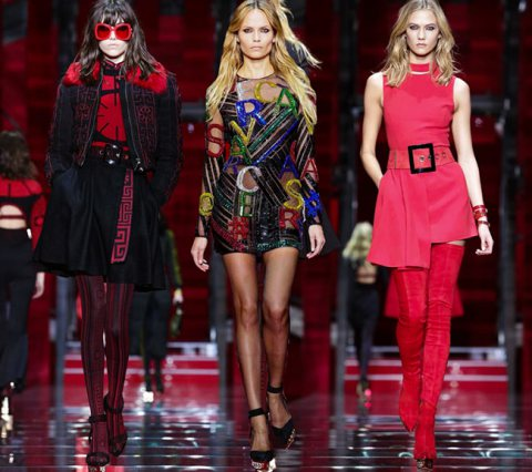 Versace Fall Winter 2015 MFW