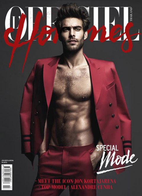 Jon Kortajarena for L'Officiel Thailand