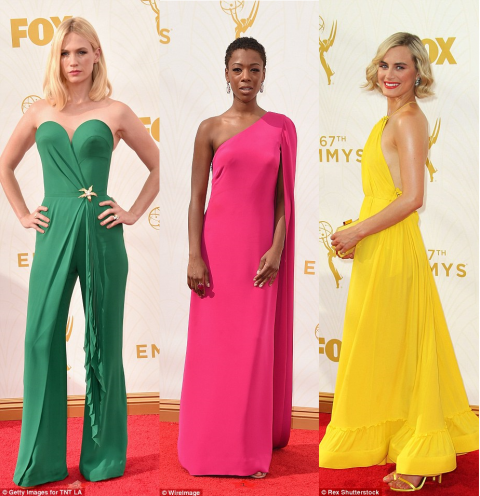 2015 Primetime Emmy Awards red carpet