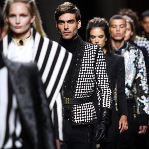 Balmain Paris Men's Fashion Week: