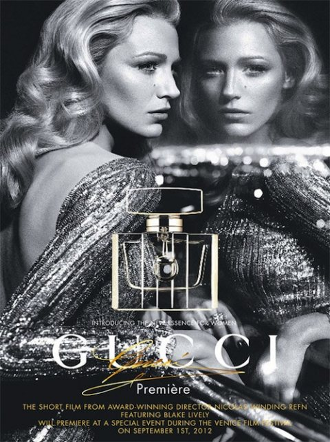 Blake Lively The New Face of Gucci Fragrance Premiere