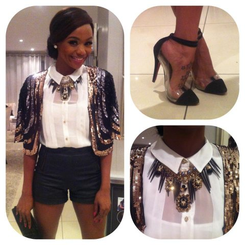 Bonang Matheba at Topshop SA Launch