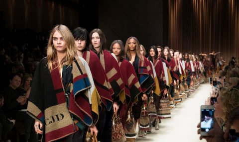 Burberry London Fashion Week A/W 2014 Show
