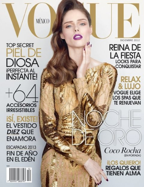 Coco Rocha covers Vogue Mexico