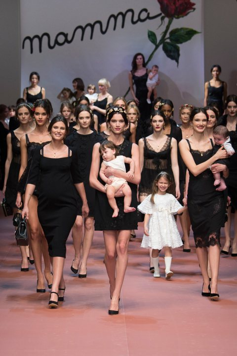 Dolce & Gabbana Celebrates Mother's Day