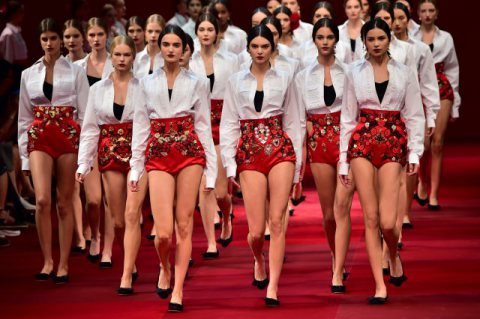 Dolce & Gabbana Milan Fashion Week Spring/Summer 2015