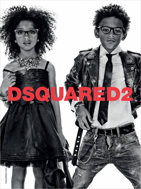 Dsquared2 Kids SS14 by Giampaolo Sgura