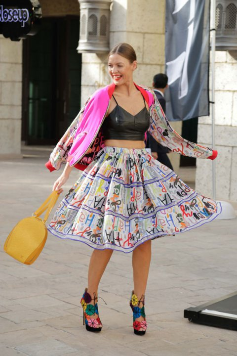 Dubai Fashion Forward 2015 Street Style