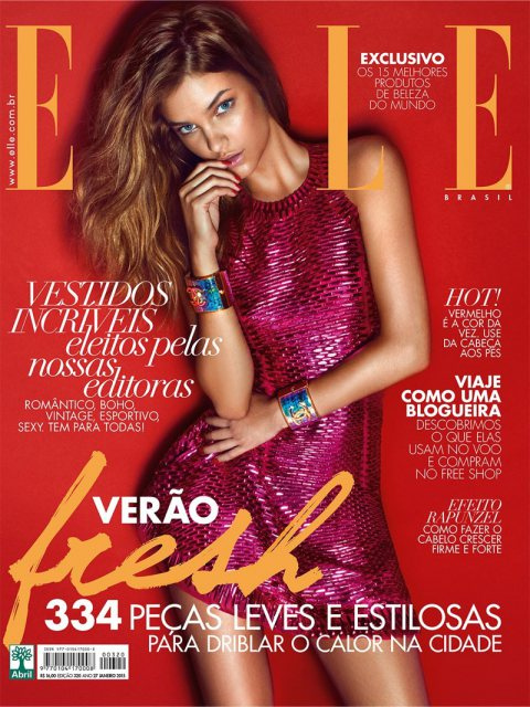 Elle Brazil January 2015 Cover