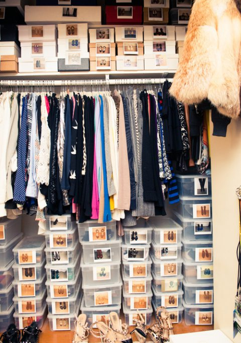 How To Organise Your Wardrobe!