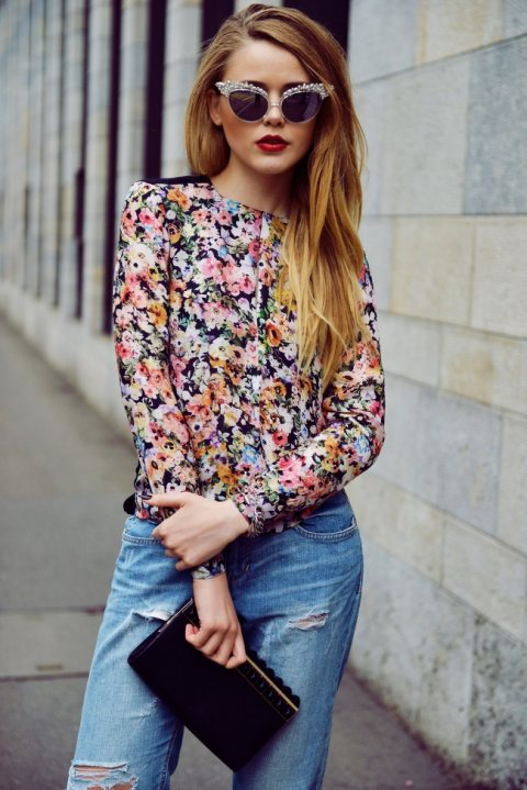 Fashion Tip of the Day: Winter Florals