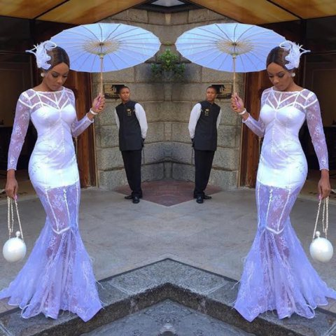 First look of Bonang Matheba at LQP 2016