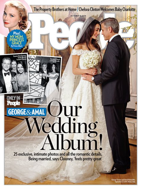 George Clooney & Amal Alamuddin's Official Wedding Album Reve
