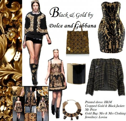 Get the D&G inspired look
