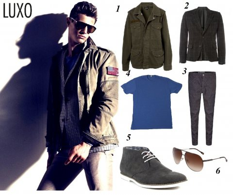 Get The Look: Trendy Military