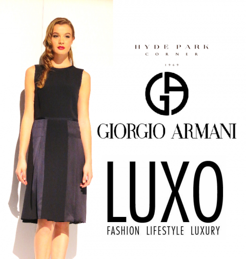Giorgio Armani hits Hyde Park Fashion Corner