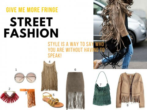 Give Me More Fringe!