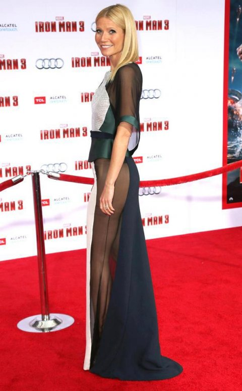 Gwyneth Paltrow at Iron Man 3 Premiere