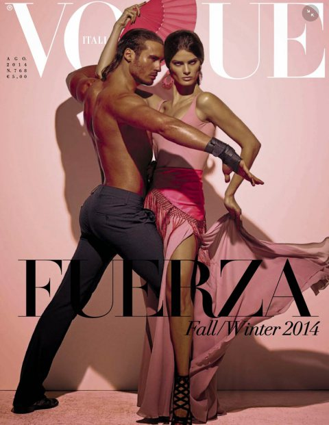 Isabeli Fontana & Timo Nunez for Vogue Italia