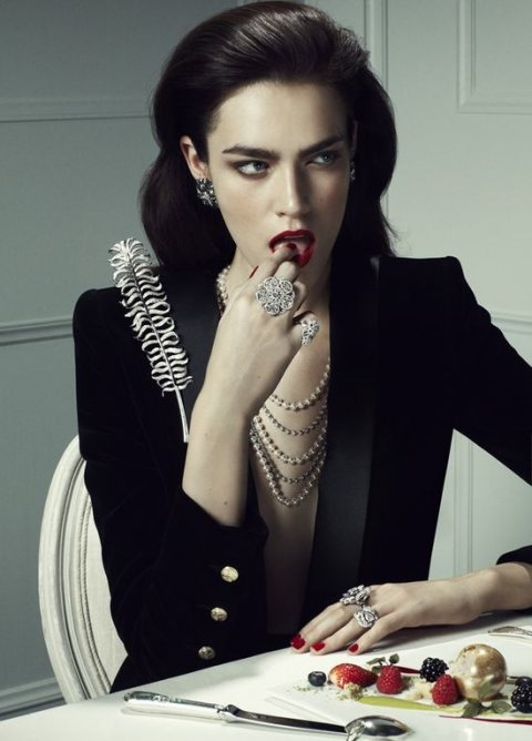 Jeweled Amour for Vogue Japan