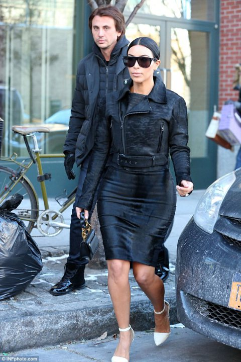 Kanye West  & Kim Kardashian take New York !