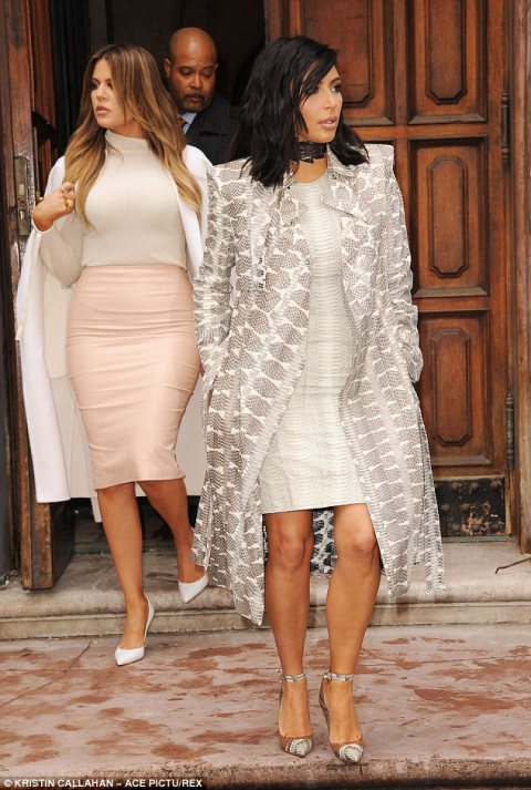 Kardashians Compete for Best Dressed Title