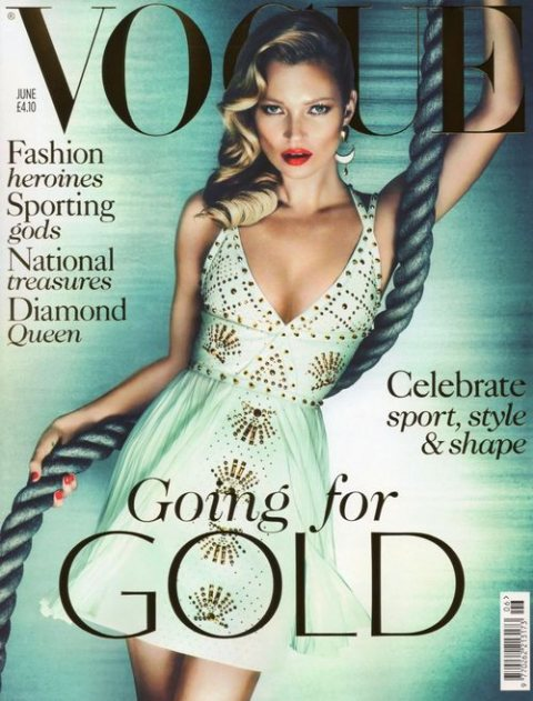 Kate Moss for British Vogue June 2012