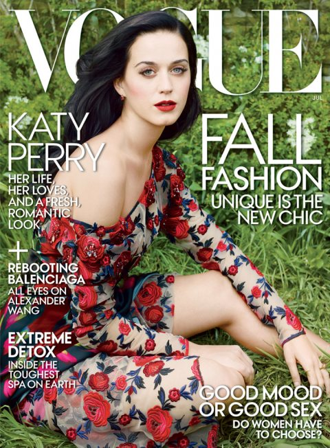 Katy Perry for Vogue US