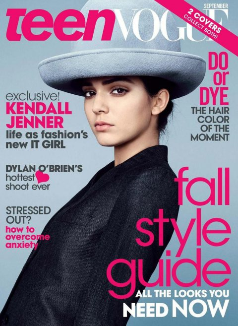Kendall Jenner for Teen Vogue September 2014