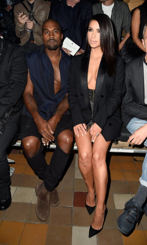 Kim Kardashian shows it all off at Paris Fashion Week