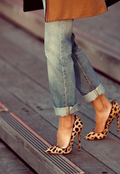 Leopard Print for Tuesday Shoesday!