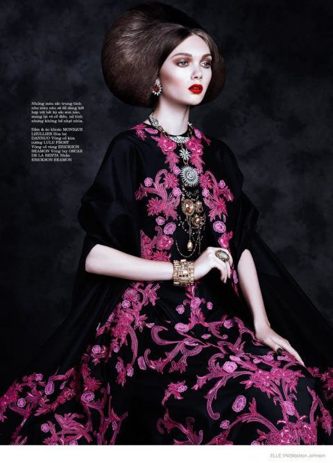 Like Royalty for Elle Vietnam
