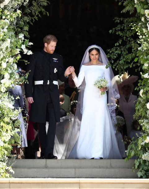 Meghan Markle's Fairytale Wedding Dress