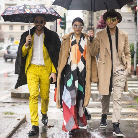 Milan Fashion Week Street Style 2016