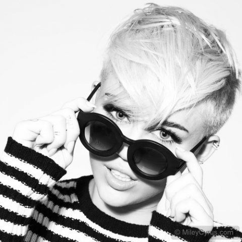 Miley's New Look