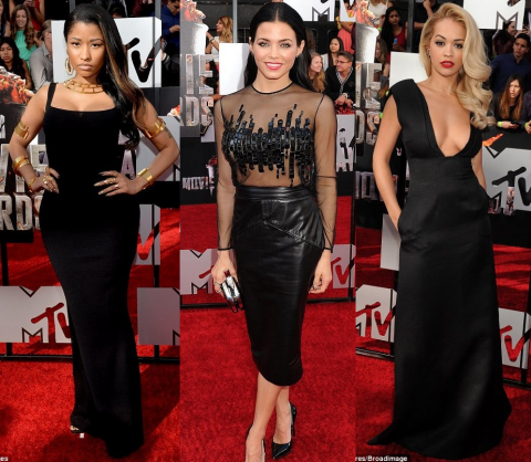 MTV Movie Awards Red Carpet 2014