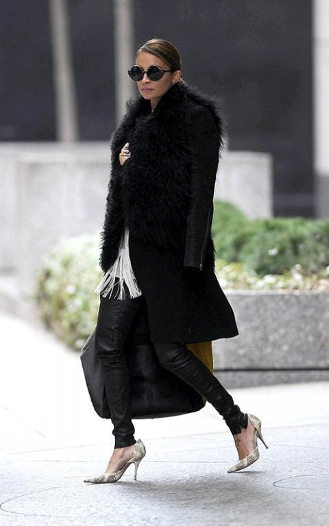 Nicole Richie's effortless look