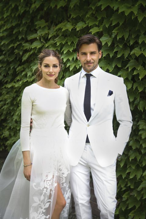 Olivia Palmero's First Wedding Pics!