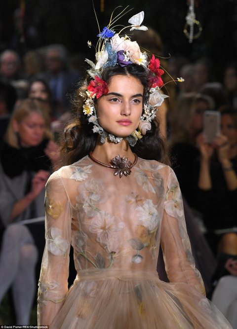 Paris Haute Couture Fashion Week 2017: Christian Dior