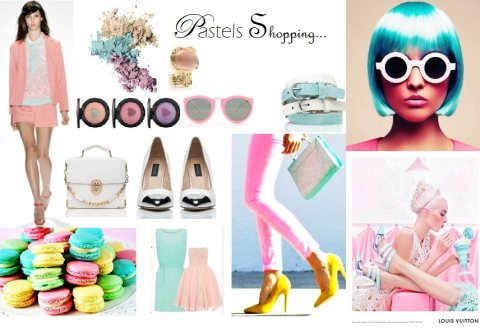 Pastels Shopping...