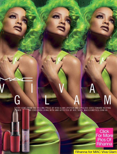 Rihanna For  Mac Viva Glam Collection
