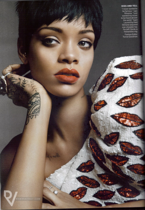 Rihanna for Vogue US March 2014